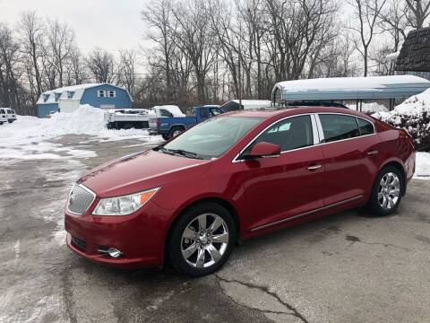 2012 Buick LaCrosse for sale at BELL AUTO & TRUCK SALES in Fort Wayne IN