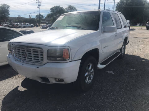 2000 Cadillac Escalade for sale at JMD Auto LLC in Taylorsville NC