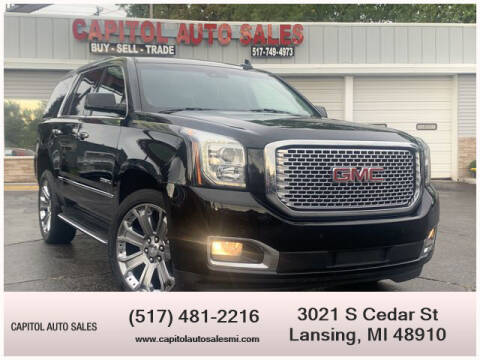 2016 GMC Yukon for sale at Capitol Auto Sales in Lansing MI
