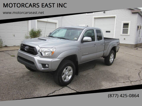 2014 Toyota Tacoma for sale at MOTORCARS EAST INC in Derry NH