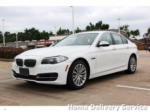 2014 BMW 5 Series for sale at JEFF HAAS MAZDA in Houston TX