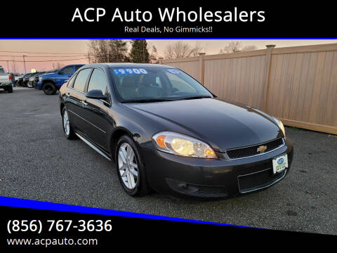 2016 Chevrolet Impala Limited for sale at ACP Auto Wholesalers in Berlin NJ