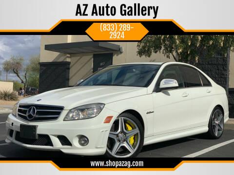 2009 Mercedes-Benz C-Class for sale at AZ Auto Gallery in Mesa AZ