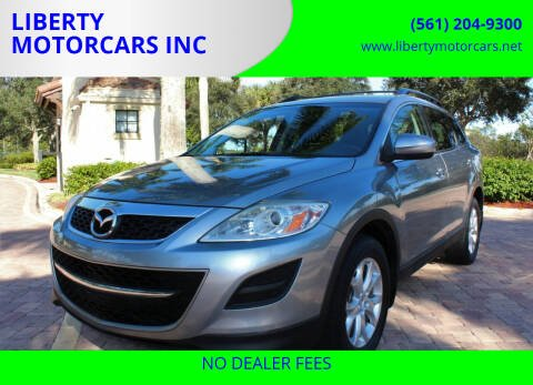 2012 Mazda CX-9 for sale at LIBERTY MOTORCARS INC in Royal Palm Beach FL