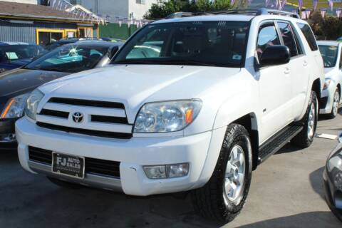 2004 Toyota 4Runner for sale at Good Vibes Auto Sales in North Hollywood CA