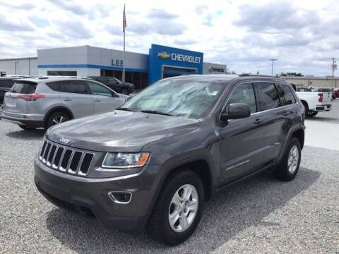 2014 Jeep Grand Cherokee for sale at LEE CHEVROLET PONTIAC BUICK in Washington NC