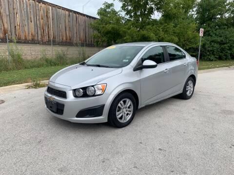 2016 Chevrolet Sonic for sale at Posen Motors in Posen IL