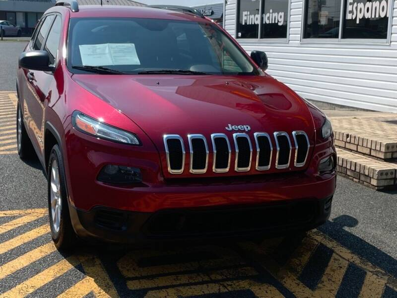 2017 Jeep Cherokee for sale at Auto America - Monroe in Monroe NC