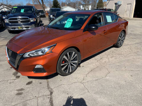 2019 Nissan Altima for sale at PAPERLAND MOTORS - Fresh Inventory in Green Bay WI