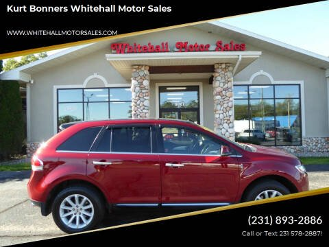 2013 Lincoln MKX for sale at Kurt Bonners Whitehall Motor Sales in Whitehall MI