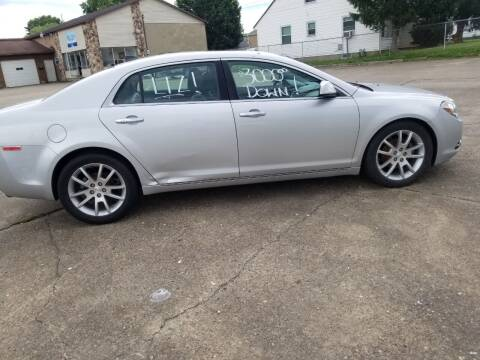 2012 Chevrolet Malibu for sale at Action Auto Sales in Parkersburg WV