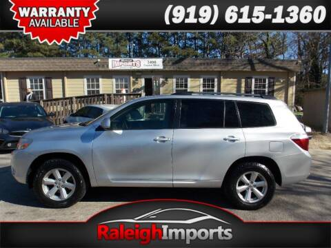 2010 Toyota Highlander for sale at Raleigh Imports in Raleigh NC