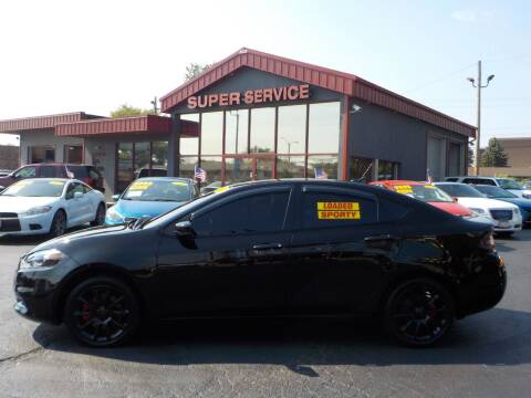2013 Dodge Dart for sale at Super Service Used Cars in Milwaukee WI