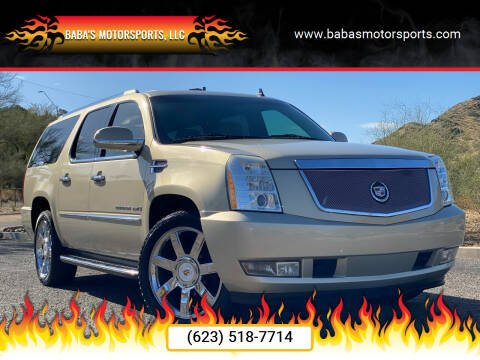 2009 Cadillac Escalade for sale at Baba's Motorsports, LLC in Phoenix AZ