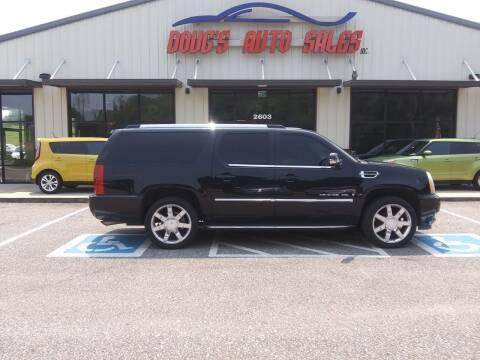 2007 Cadillac Escalade ESV for sale at DOUG'S AUTO SALES INC in Pleasant View TN