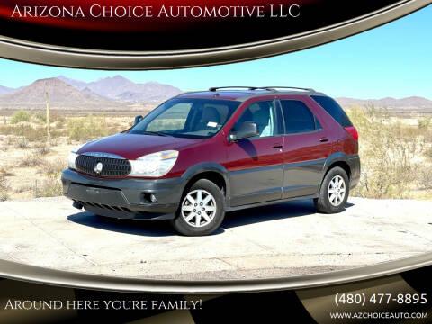 2004 Buick Rendezvous for sale at Arizona Choice Automotive LLC in Mesa AZ