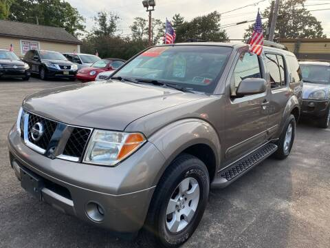 2006 Nissan Pathfinder for sale at Primary Motors Inc in Commack NY