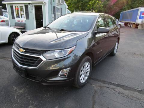 2018 Chevrolet Equinox for sale at Route 12 Auto Sales in Leominster MA