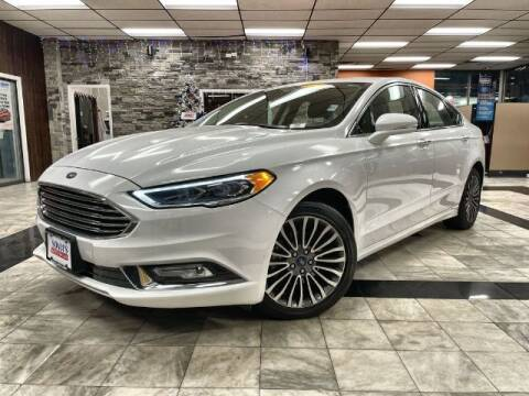 2017 Ford Fusion for sale at Sonias Auto Sales in Worcester MA