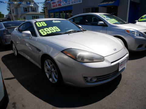 2008 Hyundai Tiburon for sale at M & R Auto Sales INC. in North Plainfield NJ