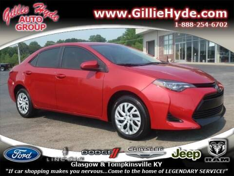 2019 Toyota Corolla for sale at Gillie Hyde Auto Group in Glasgow KY