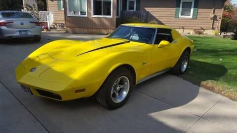 1973 Chevrolet Corvette for sale at Classic Car Deals in Cadillac MI