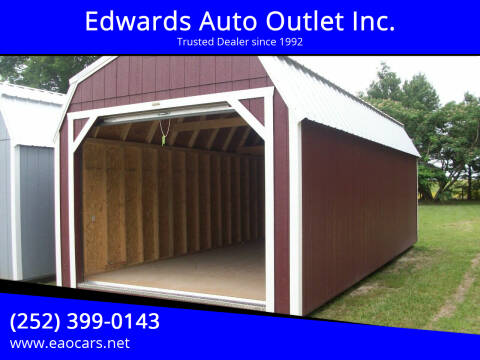 2021 xx Old Hickory Buildings 12x24 Lofted Barn garage door for sale at Edwards Auto Outlet Inc. in Wilson NC