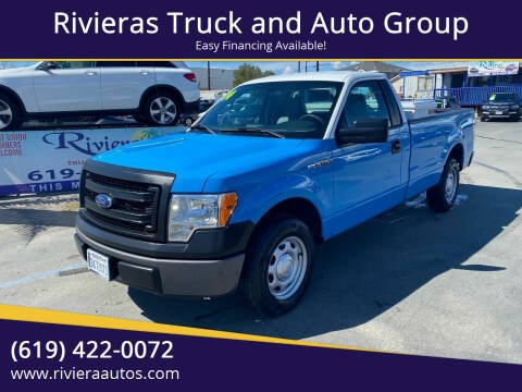 2014 Ford F-150 for sale at Rivieras Truck and Auto Group in Chula Vista CA