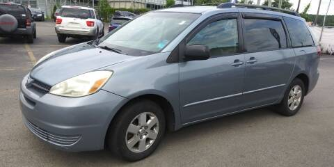 2004 Toyota Sienna for sale at JG Motors in Worcester MA