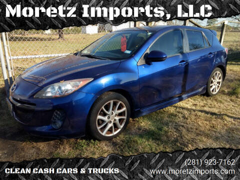 2012 Mazda MAZDA3 for sale at Moretz Imports, LLC in Spring TX
