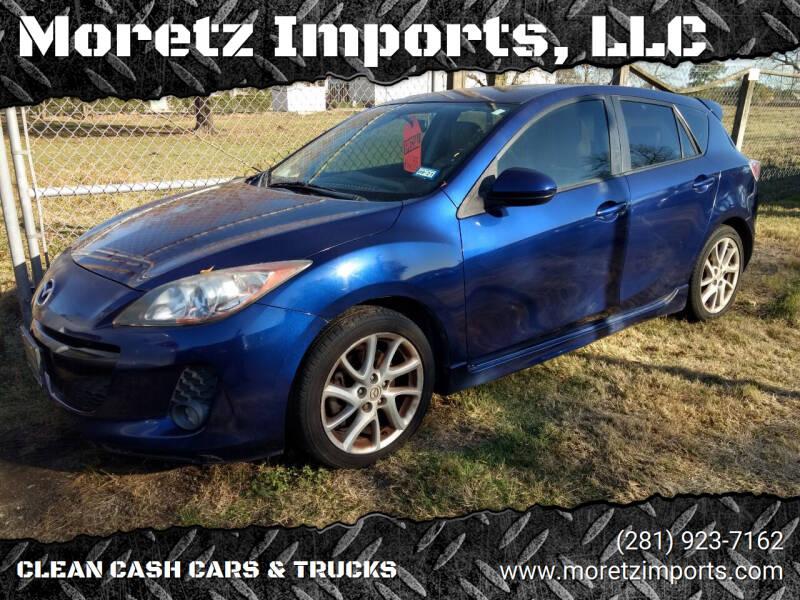 2012 Mazda MAZDA3 for sale at Moretz Imports, LLC in Spring TX