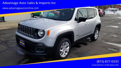 2015 Jeep Renegade for sale at Advantage Auto Sales & Imports Inc in Loves Park IL