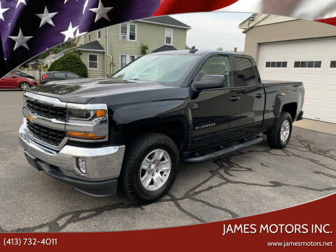 2017 Chevrolet Silverado 1500 for sale at James Motors Inc. in East Longmeadow MA