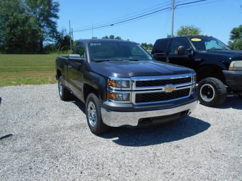 2014 Chevrolet Silverado 1500 for sale at BABCOCK MOTORS INC in Orleans IN