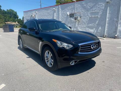 2014 Infiniti QX70 for sale at Consumer Auto Credit in Tampa FL