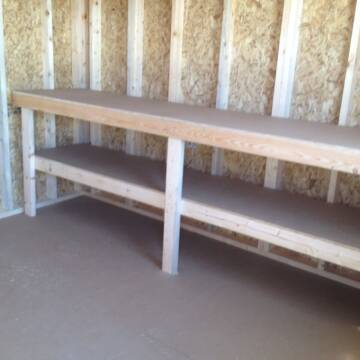 2021 Premier lofted barn for sale at Triple R Sales in Lake City MN