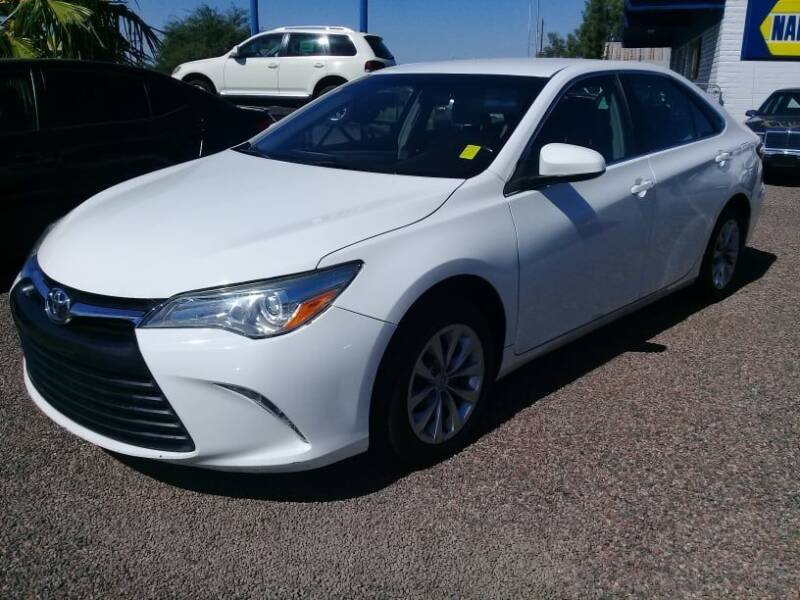 2017 Toyota Camry for sale at 1ST AUTO & MARINE in Apache Junction AZ
