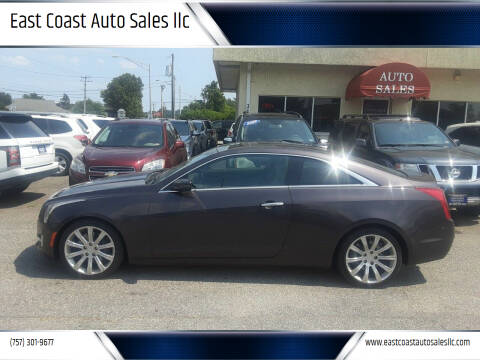 2015 Cadillac ATS for sale at East Coast Auto Sales llc in Virginia Beach VA