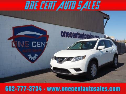 2016 Nissan Rogue for sale at One Cent Auto Sales in Glendale AZ