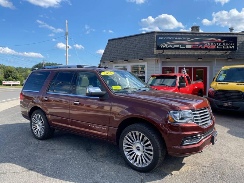 2015 Lincoln Navigator for sale at Maple Street Auto Center in Marlborough MA