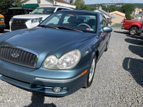 2005 Hyundai Sonata for sale at JM Auto Sales in Shenandoah PA