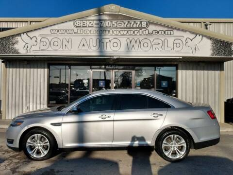 2017 Ford Taurus for sale at Don Auto World in Houston TX