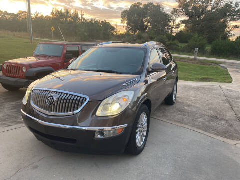2010 Buick Enclave for sale at Tri-County Auto Sales in Pendleton SC