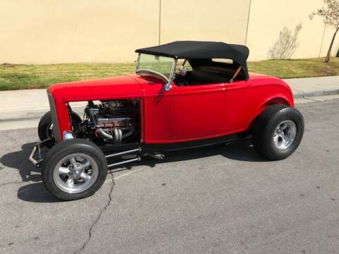 1932 Ford Roadster for sale at HIGH-LINE MOTOR SPORTS in Brea CA