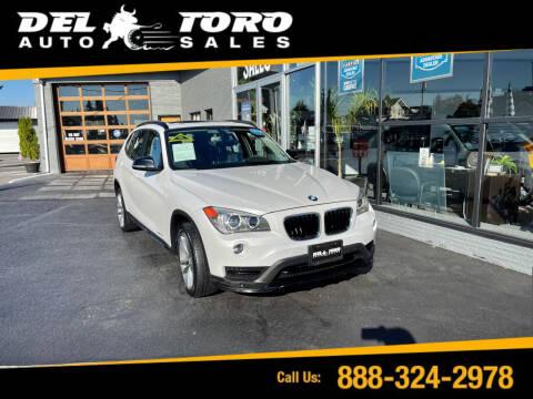2015 BMW X1 for sale at DEL TORO AUTO SALES in Auburn WA