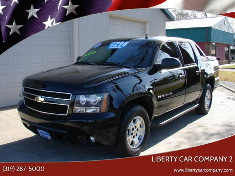 2009 Chevrolet Avalanche for sale at Liberty Car Company - II in Waterloo IA