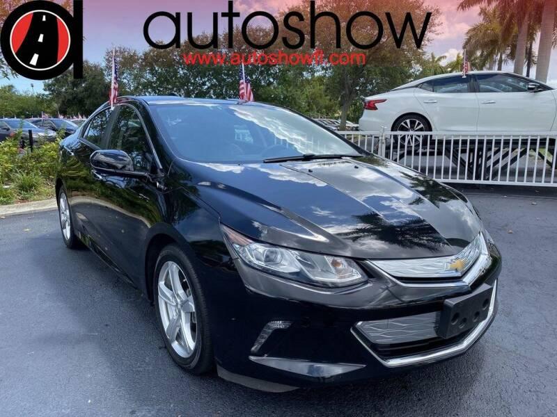 2017 Chevrolet Volt for sale at AUTOSHOW SALES & SERVICE in Plantation FL