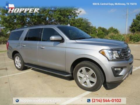 2020 Ford Expedition MAX for sale at HOPPER MOTORPLEX in Mckinney TX