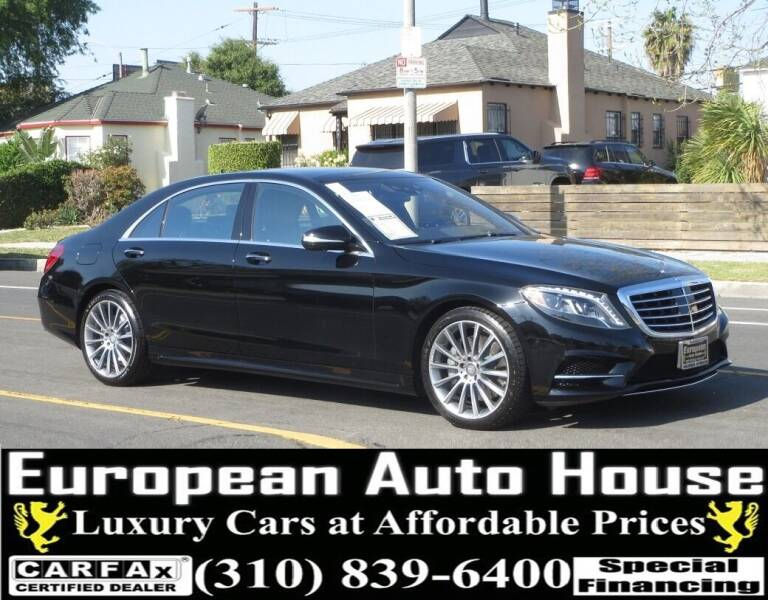 2015 Mercedes-Benz S-Class for sale at European Auto House in Los Angeles CA