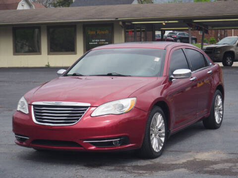 2011 Chrysler 200 for sale at Tom Roush Budget Westfield in Westfield IN